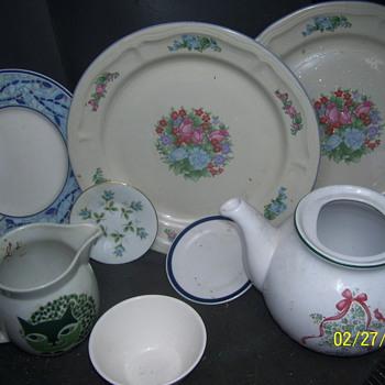 china glassware  - China and Dinnerware