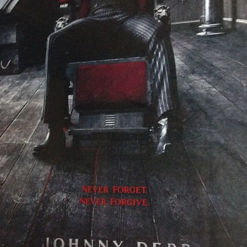 Sweeney Todd - cinema poster