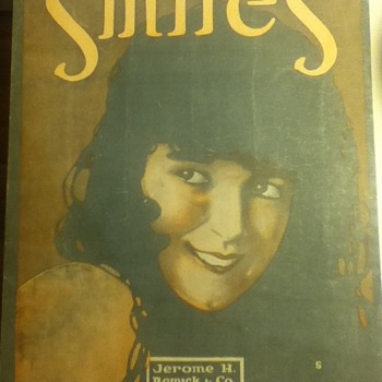 """Smiles"" Songbook  - Music Memorabilia"