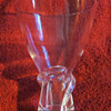 STEUBEN GLASS SPIRAL VASE  -  #8058