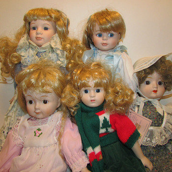 unknown porcelain dolls