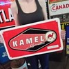 My tin Kamel Red Cigarettes Sign! What's it's story?