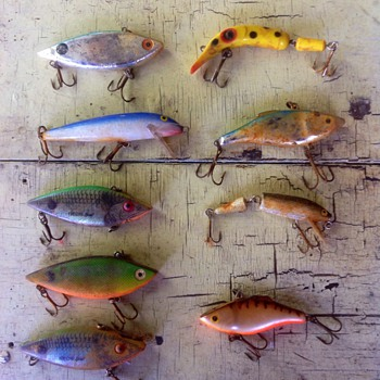 A jumble of fishing lures! - Fishing