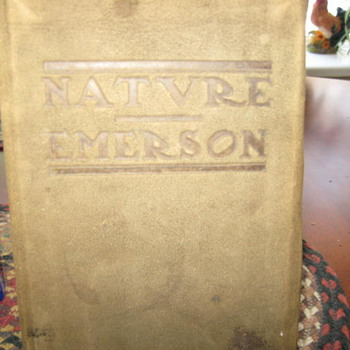 Nature - Emerson...Roycroft Press - Arts and Crafts