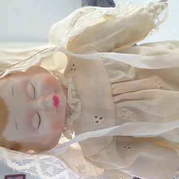 Antique 3 faced doll