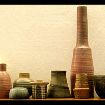 Collection of Mobach Ceramics (Utrecht, The Netherlands) - Art Pottery