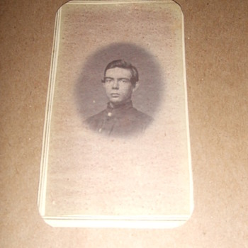 IDd Wisconsin soldier CDV