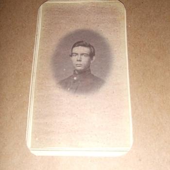 IDd Wisconsin soldier CDV