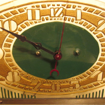 Price Brothers Art Deco Clock