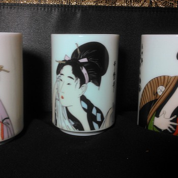 KOTOBUKI CUPS - Art Pottery