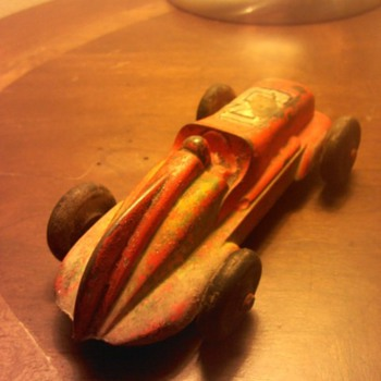 Old toy racer I found!! No makers mark??