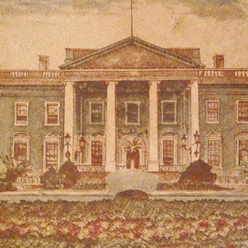 Buffalo Pottery 1907 White House