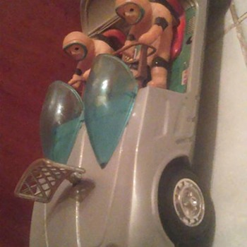 """""""Japan"""" Battery operated Space Patrol Car !"""