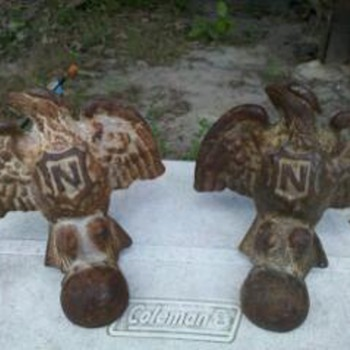 not sure what these cast iron eagles are?