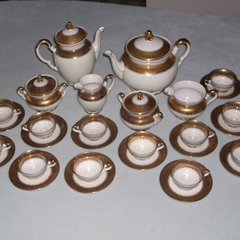 Bavarian Chocolate / Tea Set Mitterteich  - China and Dinnerware