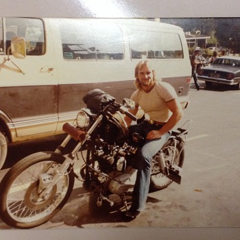 My first Harley Davidson motorcycle - Motorcycles