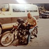My first Harley Davidson motorcycle