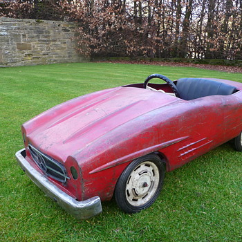 Mercedes Benz 300sl Pedal Car