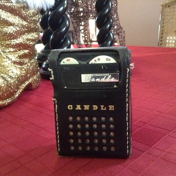 Candle PTR-62B transistor radio