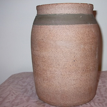 Old? Pottery Vase &quot;BM&quot;?