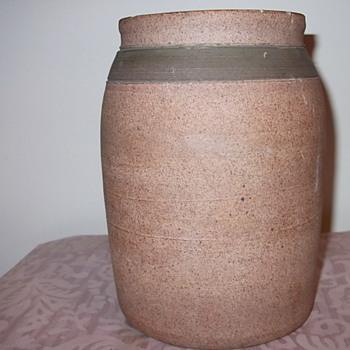 """Old? Pottery Vase """"BM""""? - Art Pottery"""