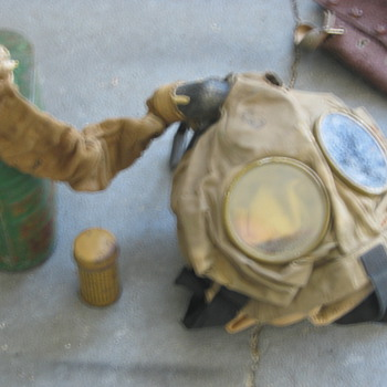Military Clothing, Gas Mask, etc. - Military and Wartime