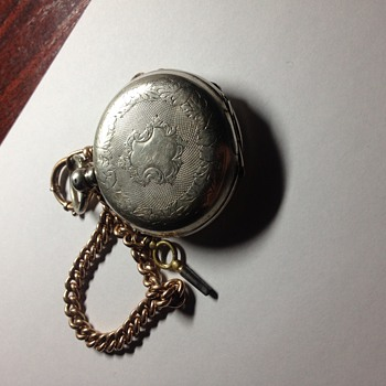 Pocket watch. Estonia. Silver