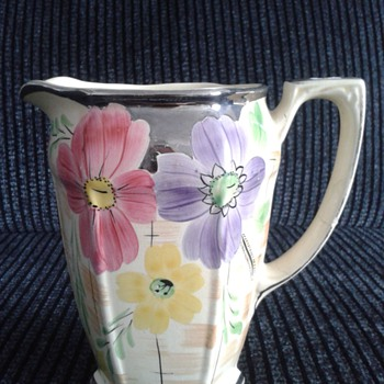 Lovely Arthur Wood Jug ! - Art Pottery
