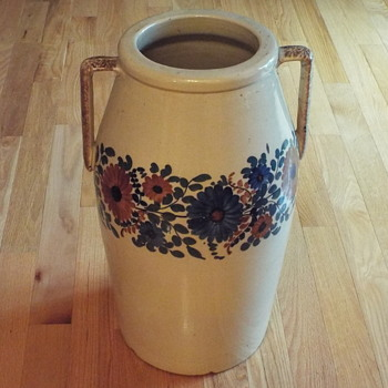 Large Stoneware ? - Art Pottery