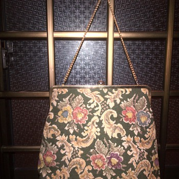 Vintage Carpet/ Tapestry Handbags - Bags