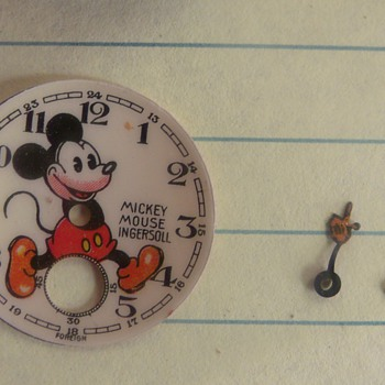 "My Latest Project Piece 1936 ""Bearded"" English Mickey Watch"