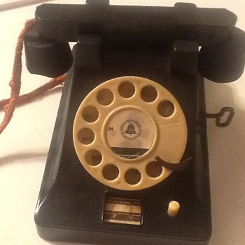 Old toy telephone - Toys