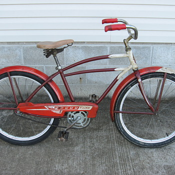Murray SpaceFlite tank bicycle.