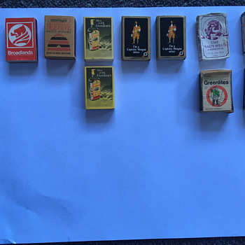 Match Boxes Lot 1