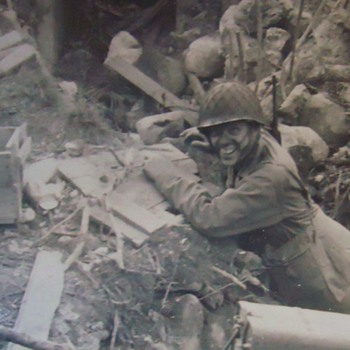 WW-2 Photos Attu, fighting Japan, Anybody know these brave men???
