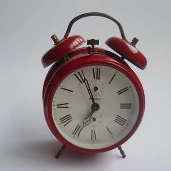 1960's-1970's German Chambord (Jerger) alarm clock.
