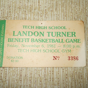 Landon Turner Benefit Basketball Game