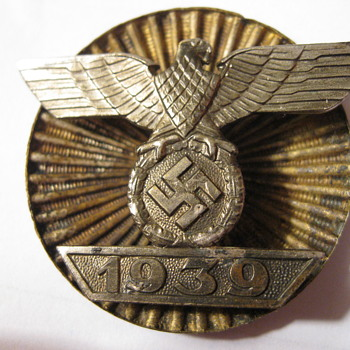 1939 ek1 spange for iron cross world war 2 or 1