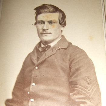CDV of MN Civil War 1SG by Whitney