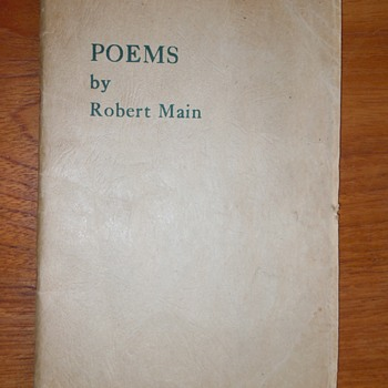 Poetry by Robert Main
