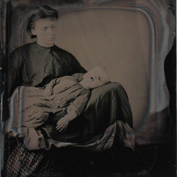 Post Mortem Tintype Collection Jim Linderman  Death Strikes - Photographs