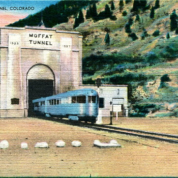 Moffat Tunnel Postcard - Postcards