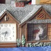 Haddon Original &quot;Home Sweet Home&quot; Granny Clock mid-1950s