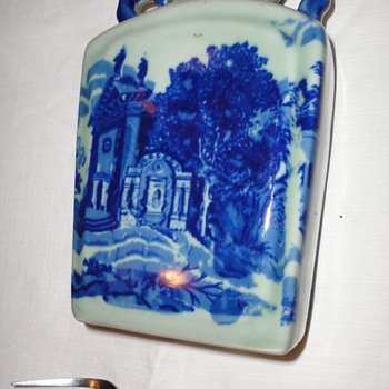 Blue and White Ceramic Pottery - Art Pottery