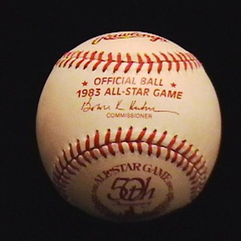 50th Anniversary All Star Game Baseball Signed by Pete Rose - Baseball