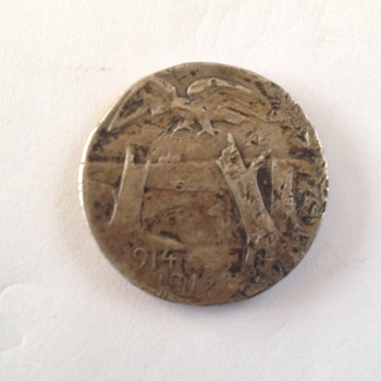 La Somme Devastee  Coin/Token dated  1914-1918