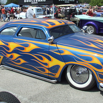 Another great Ford retro 50&#039;s lead sled