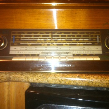 Old Grundig Stereo Console Receiver Radio - Radios