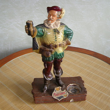 Vintage Falstaff Bar Figure