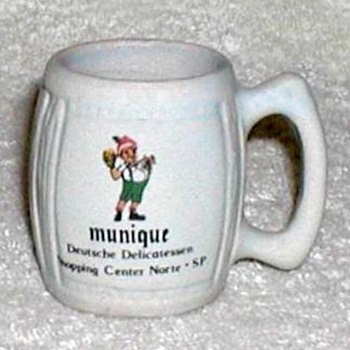 """Munique"" Sao Paulo - Mini-stein Shotglass - Advertising"